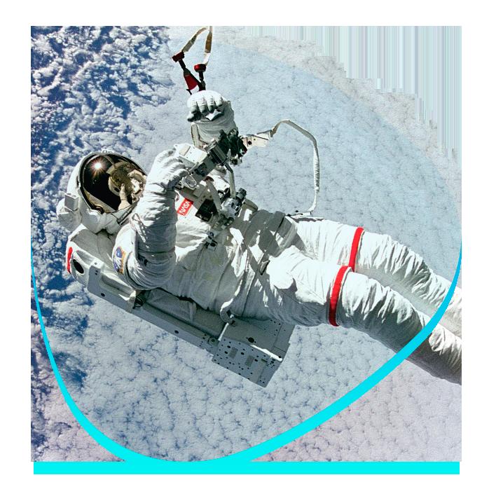 Astronauta Preparando Despegue