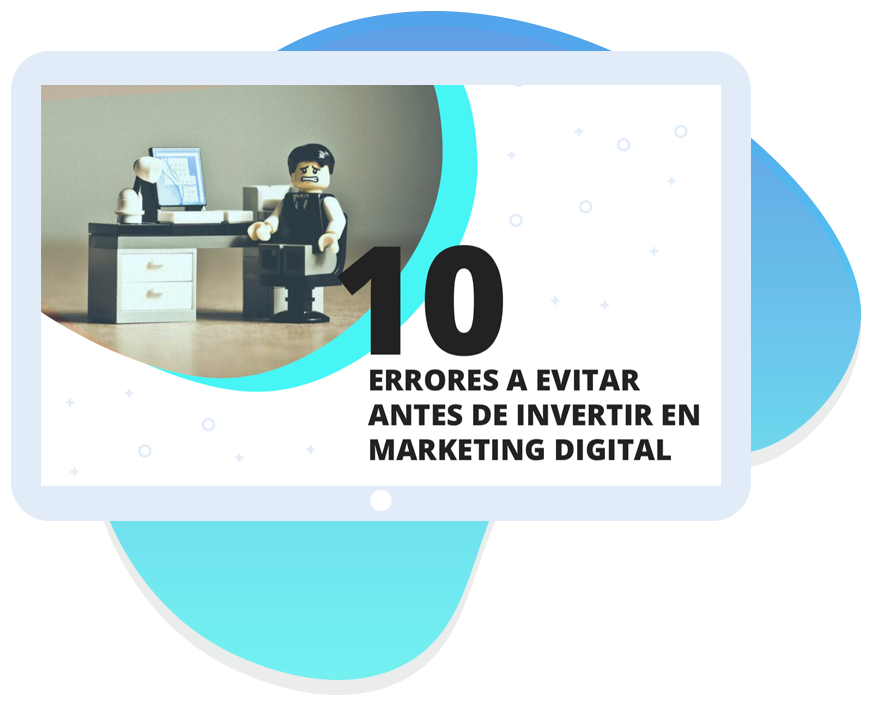 Guia - errores a evitar antes de invertir en marketing digital