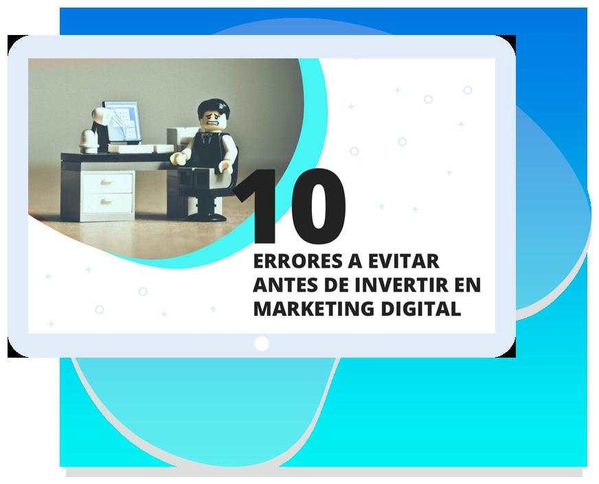 Guia - errores a evitar antes de invertir en marketing digital